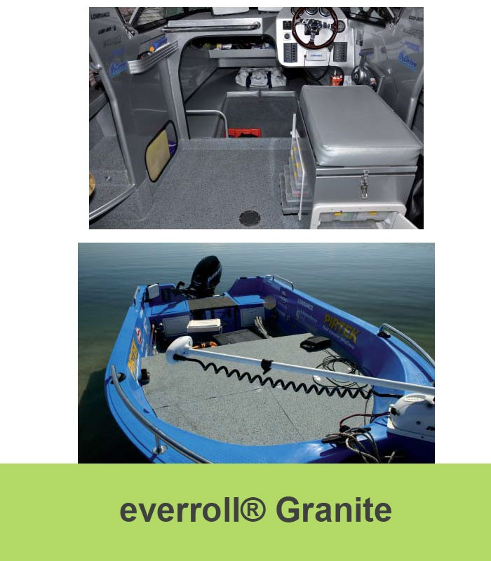 Everroll Marine Flooring   Granite