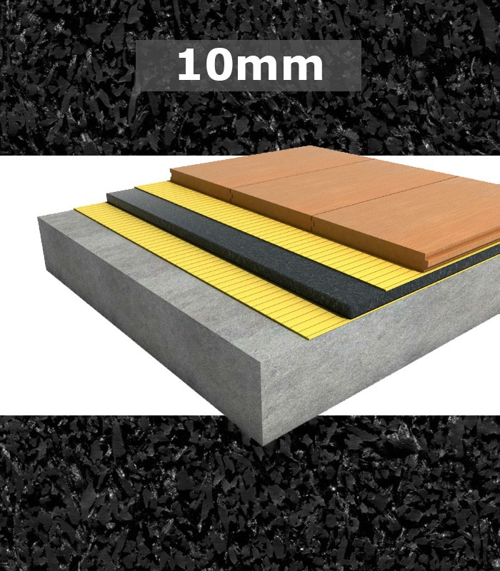 Regupol Acoustic Underlay 6010 10mm For Engineered Timber Tg