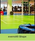 Everroll Gym Flooring - Shape