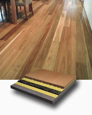Acoustic Underlay for timber laminate bamboo flooring in Perth Western Australia