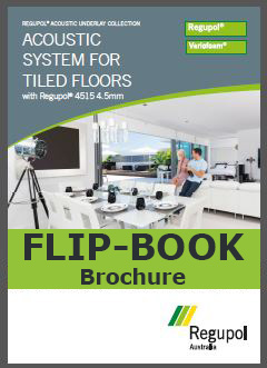 Acoustic Underlay 4515 4.5mm product information flip book