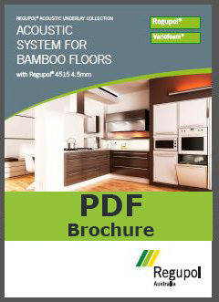 Acoustic Underlay 4515 4.5mm for bamboo flooring