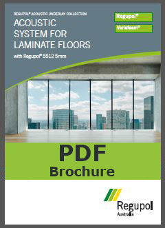 Acoustic Underlay for Laminate Flooring 5512 5mm