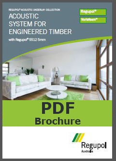 Brochure 5512 5mm Regupol acoustic underlay for timber, laminate and bamboo