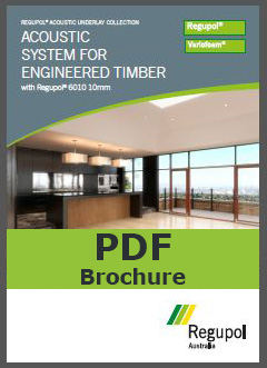 6010-10mm Engineered Timber Acoustic Underlay