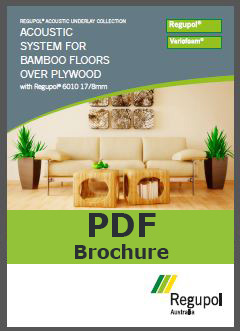 6010 17-8mm Bamboo acoustic underlay