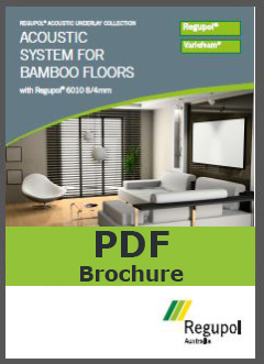 Acoustic Underlay for Bamboo 6010 8-4mm
