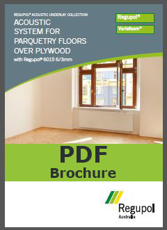 6015 6/3mm Parquetry Acoustic Underlay