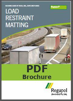 Anti-slip transport mat brochure