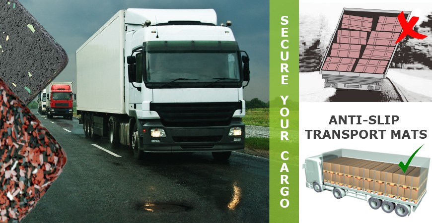 Heavy Goods Transportation - the dangers of failing to secure cargo adequately.