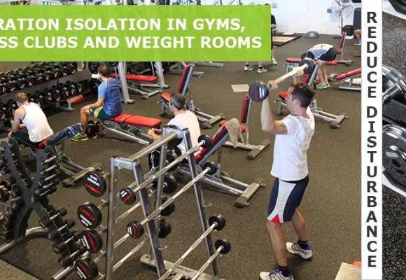 Vibration Isolation in Gyms