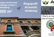 State buildings at the 'Old Treasury Precinct' - acoustic underlay