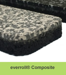 Everroll Composite Gym Flooring