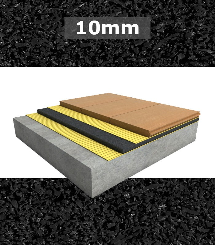 Regupol Acoustic Underlay 6010 10mm For Engineered Timber