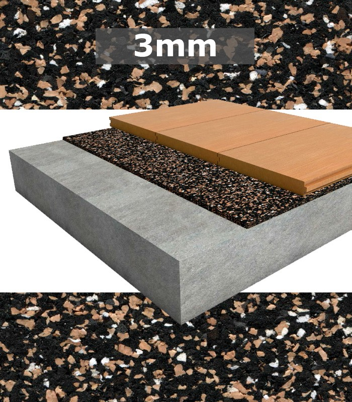 Regupol Acoustic Underlay 4515 S 3mm For Timber Tongue