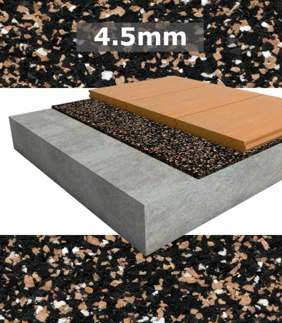 Regupol Acoustic Underlay 4515 4 5mm For Timber Bamboo