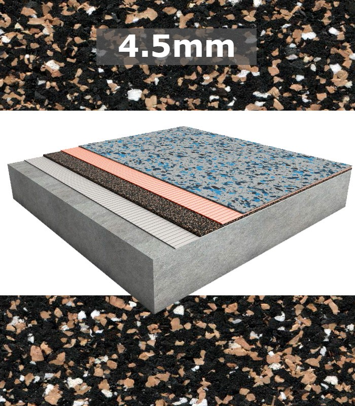 Regupol Acoustic Underlay 4515 4 5mm For Rubber And
