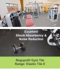 Regupol Gym Tiles - Elastic Tile E