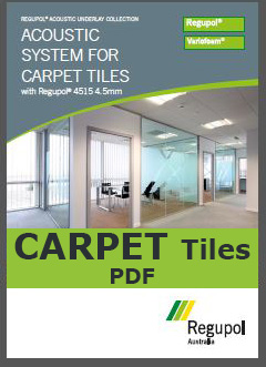 4515-4.5mm Acoustic Underlay for Carpet Tiles