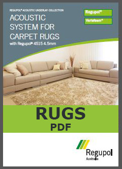 4515-4.5mm Acoustic Underlay for Rugs