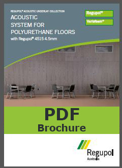 4515 4.5mm Acoustic Underlay for Polyurethane