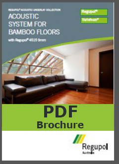 Acoustic Underlay 4515 9mm for bamboo flooring