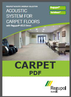 4515-9mm Acoustic Underlay for Carpet
