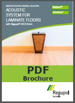 Acoustic Underlay 4515 9mm for laminate flooring
