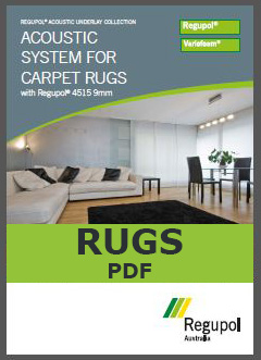4515-9mm Acoustic Underlay for Rugs