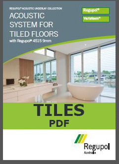 4515 9mm Acoustic Underlay for Tiled Floors