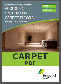 4515-S 3mm Acoustic Underlay for Carpet