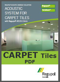 4515-S 3mm Acoustic Underlay for Carpet Tiles