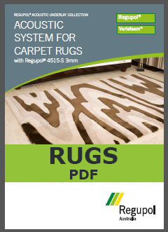 4515-S 3mm Acoustic Underlay for Rugs