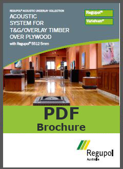 Acoustic Underlay T&G Timber 5512 5mm