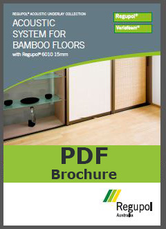 6010 15mm Bamboo Regupol Acoustic Underlay