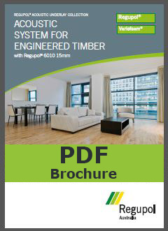 6010 15mm Engineered Timber Acoustic Underlay