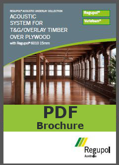 6010 15mm Tongue and groove acoustic underlay