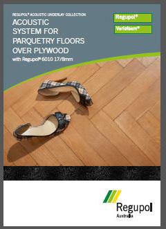 6010 17-8 Parquetry acoustic underlay