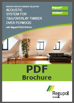 Acoustic Underlay T&G Timber 6010 8-4mm
