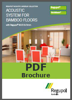 6015 6/3 bamboo acoustic underlay