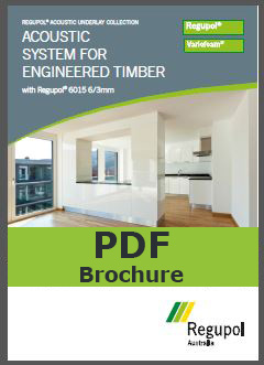 Brochure 6015 6/3mm Regupol acoustic underlay for engineered timber