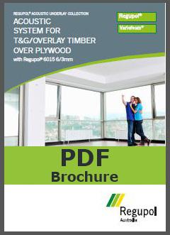 Acoustic Underlay 6015 6/3mm for T&G flooring