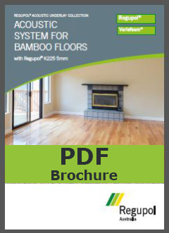 Acoustic Underlay K225 5mm for bamboo flooring