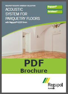 Acoustic Underlay K225 5mm for parquetry flooring
