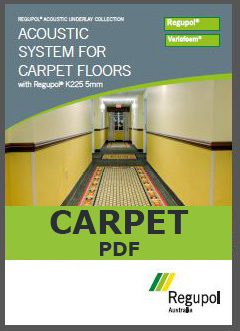 k225 5mm Acoustic Underlay for Carpet