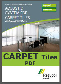 K225 5mm Acoustic Underlay for Carpet Tiles