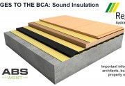 Sound Insulation: changes to the BCA