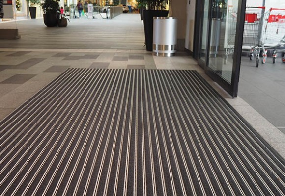 Pedimat Installed at Claremont Quarter