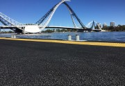 everroll® Rubber Flooring Installed at Burswood Jetty