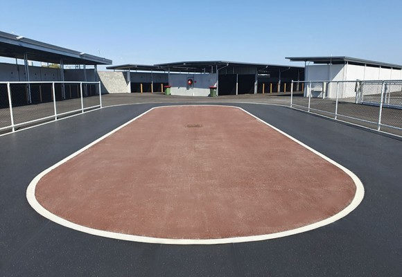 REGUPOL Equine Flooring at Belmont Park